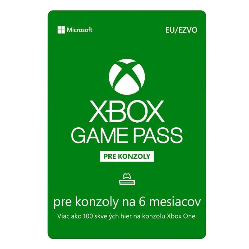 MICROSOFT Xbox Game Pass 6 mesiacov (S3T-00004)