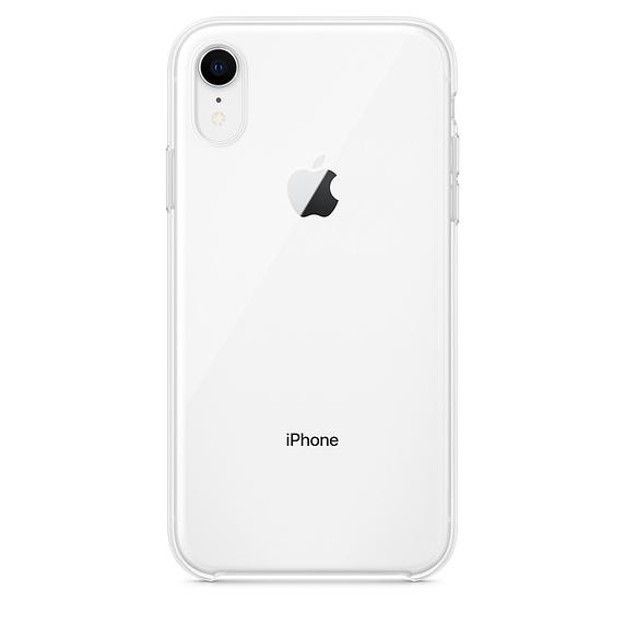 APPLE Silikónové púzdro pre iPhone Xr Clear