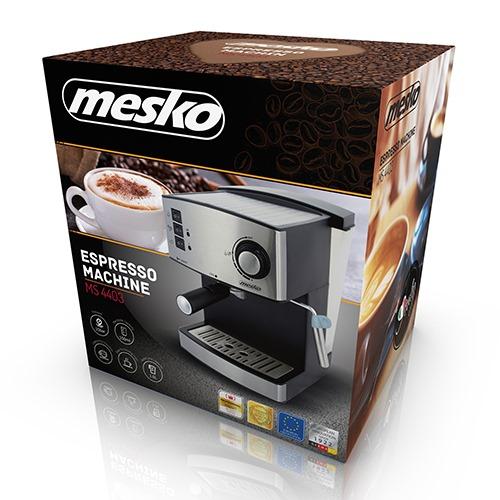 MESKO MS 4403 Pákový kávovar ESPRESSO