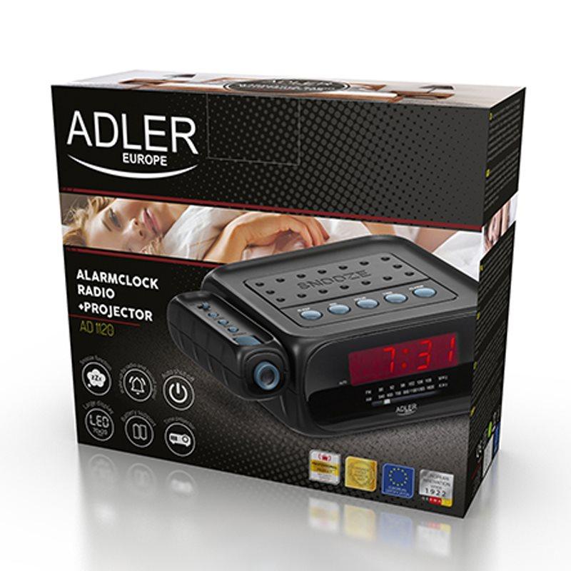 ADLER AD 1120 Rádiobudík s projektorom