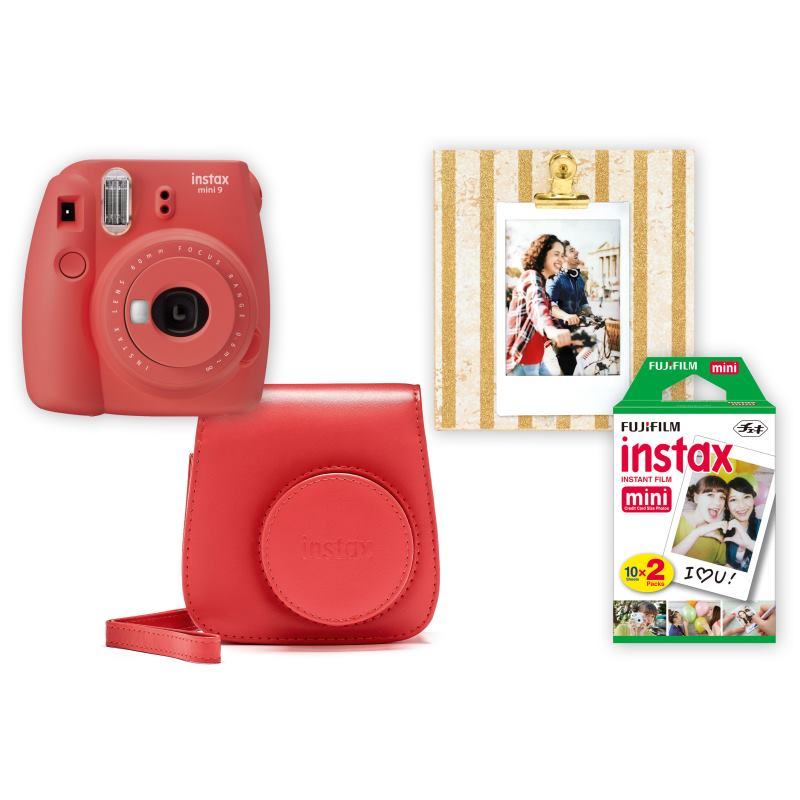 Fujifilm Instax BOX BIG Mini 9 POPPY RED