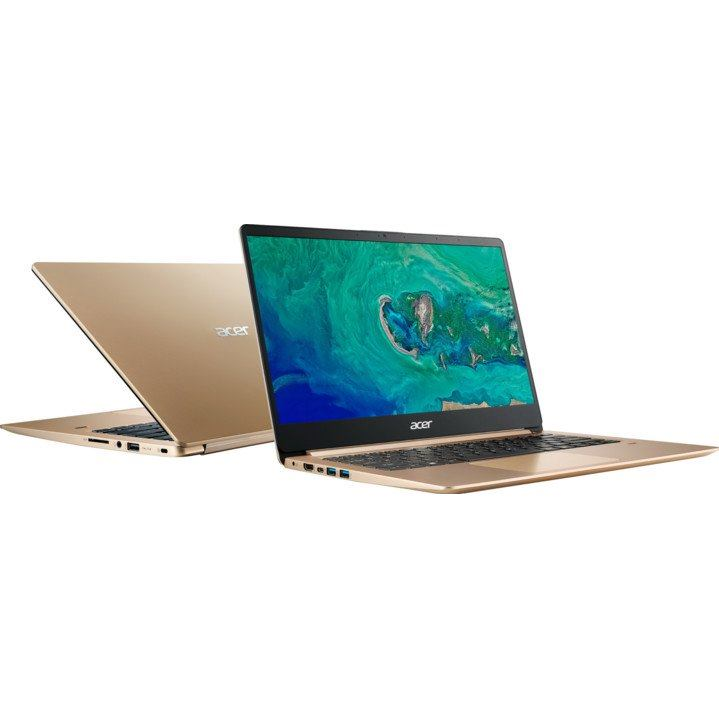 "ACER Swift 1 14"" FHD N5000/4G/64G/Int/W10S gld"