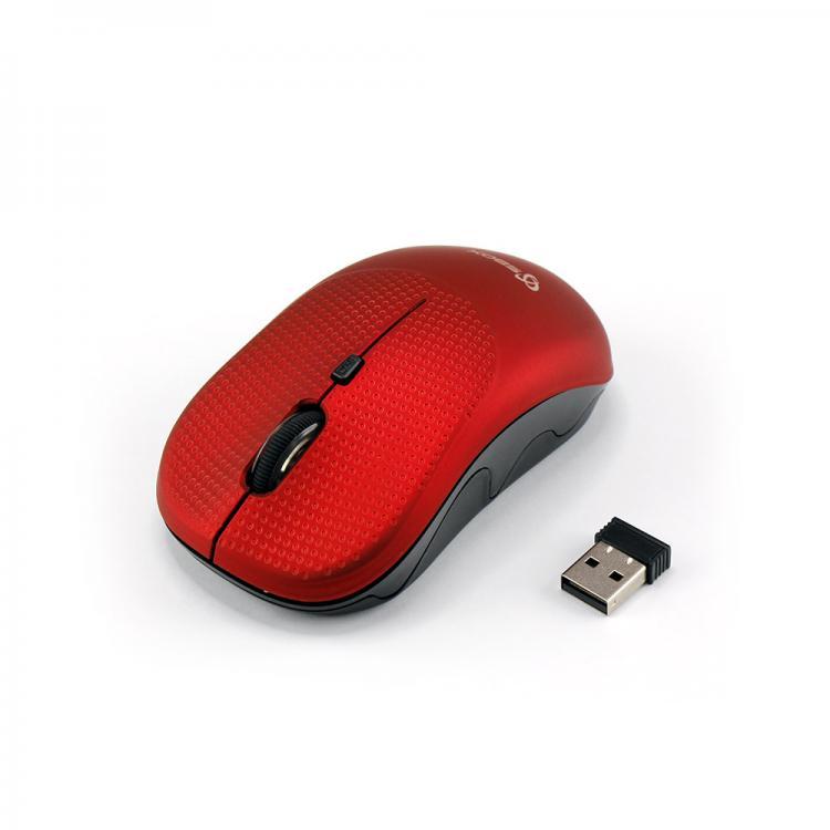 SBOX 4D Optická bezdrôtová myš Red WM-106R
