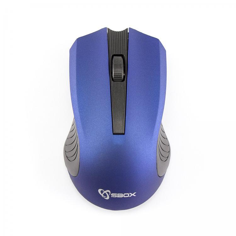 SBOX 4D Optická bezdrôtová myš Blue