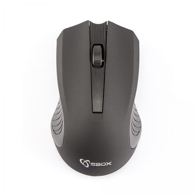SBOX 4D Optická bezdrôtová myš Black
