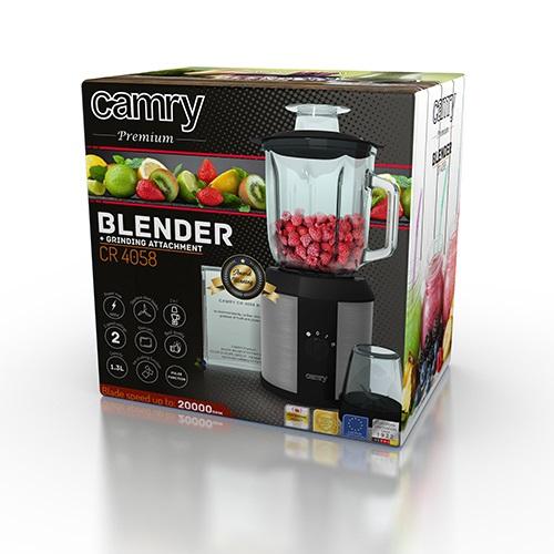 CAMRY CR 4058, Mixér 1500W s príslušenstvom