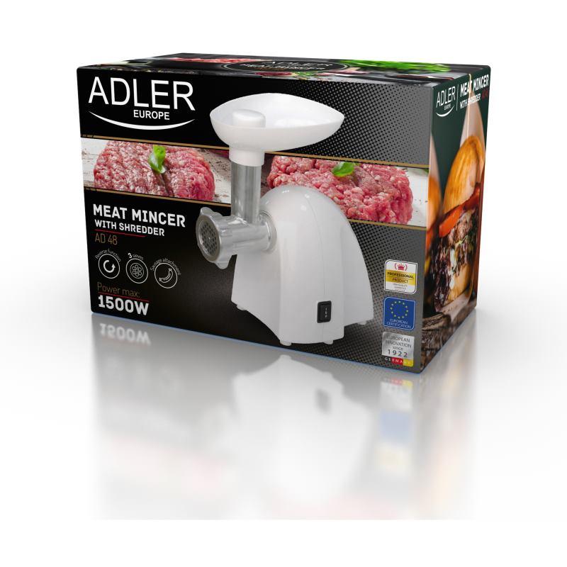 ADLER AD 48 W, Mlynček na mäso
