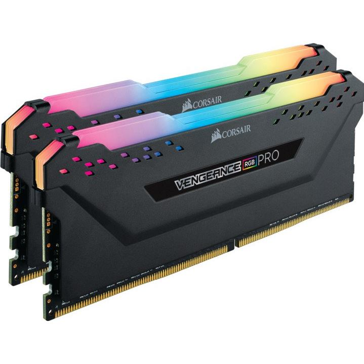 CORSAIR RGB Pro BLACK 2x8G/DDR4/3600MHz/CL18/1.35V