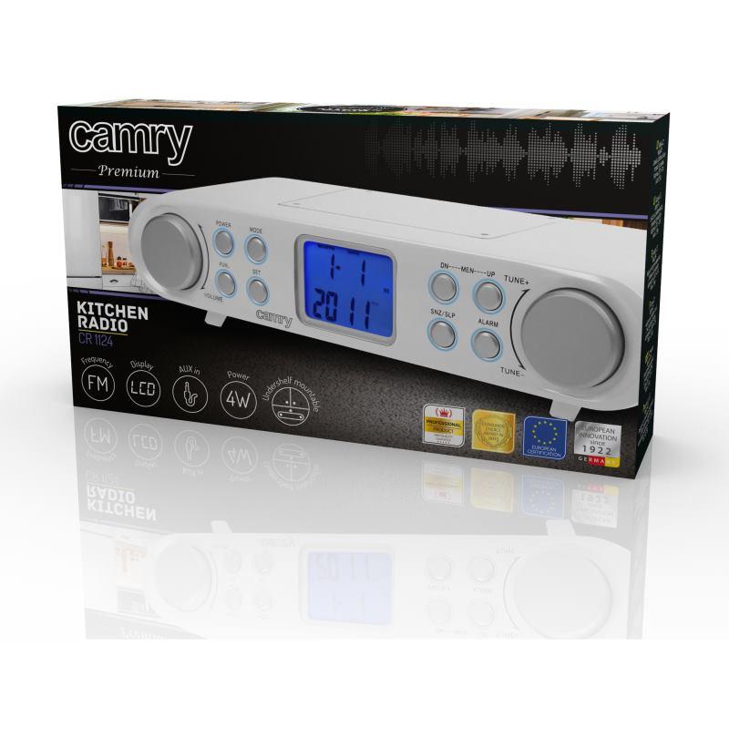 CAMRY CR 1124 Kuchynské FM rádio