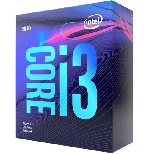 INTEL Intel Core i3-9100F (6M Cache, 4,2 GHz)