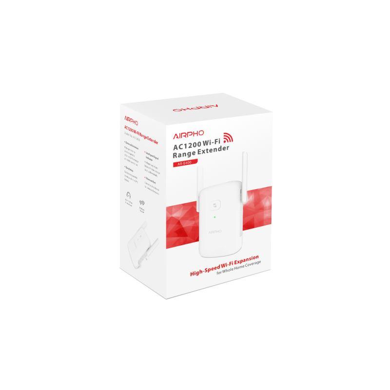 AIRPHO Wifi AC1200 Range Extender 867/5G-300/2,4G,