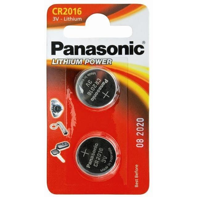 PANASONIC Lithium, CR2016, 3V, 2ks