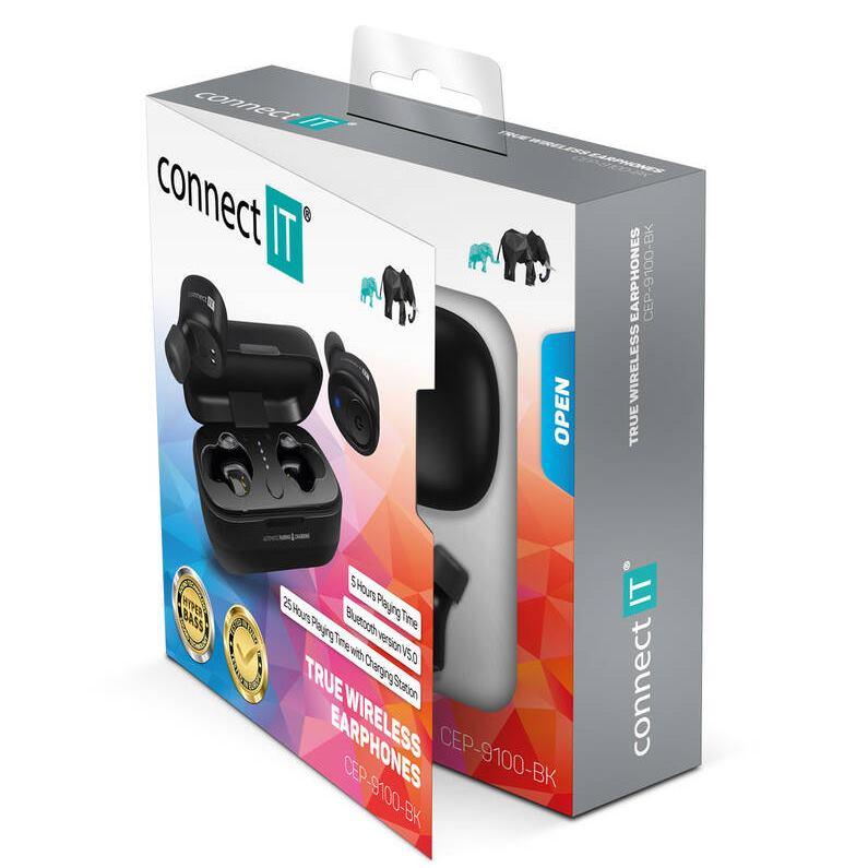 CONNECT IT True Wireless Hyper-bass ED.II black