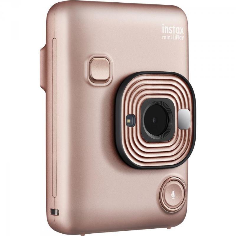 Fujifilm Instax Mini LiPlay Hybrid (Blush Gold)