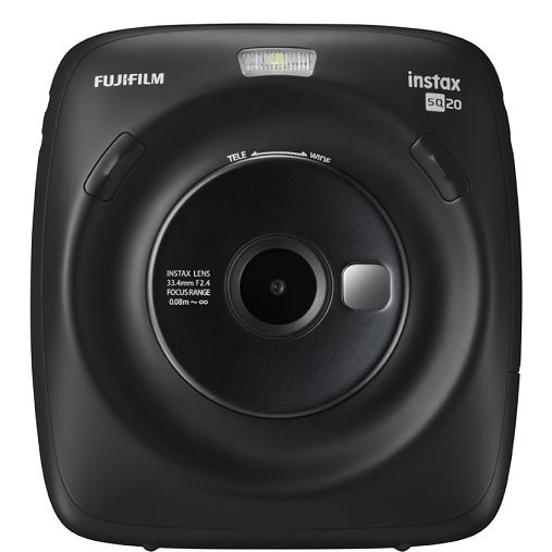 Fujifilm Instax Square SQ20, Čierny