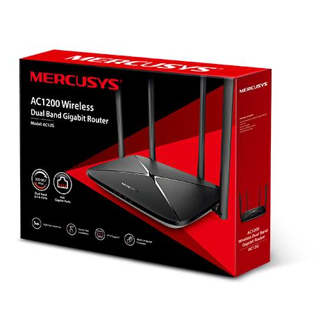 MERCUSYS AC12 AC1200 Dual Band Wireless Router