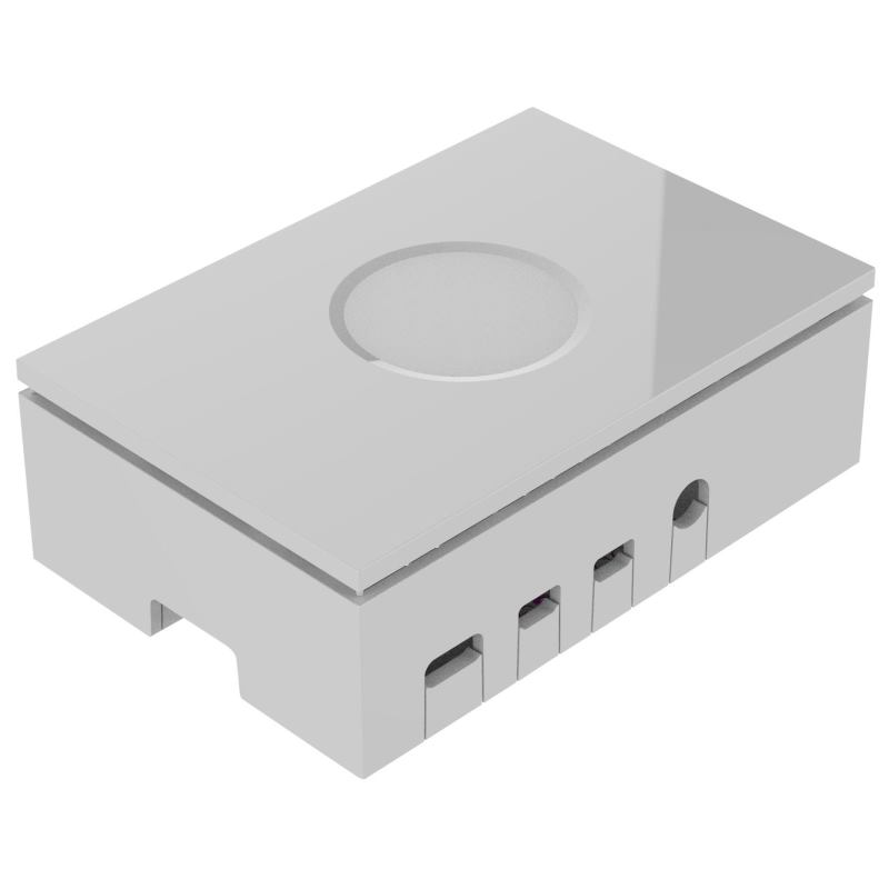 RASPBERRY Pi 4 Case plastic white