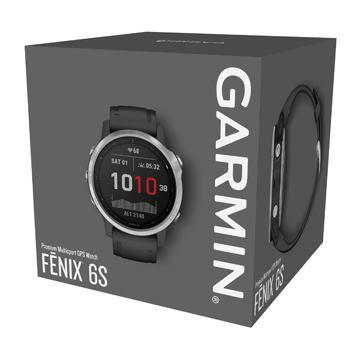 GARMIN Fénix 6S Silver/Black band