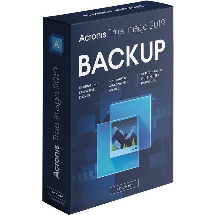 ACRONIS True Image 2019 CZ 1PC Upgrade BOX