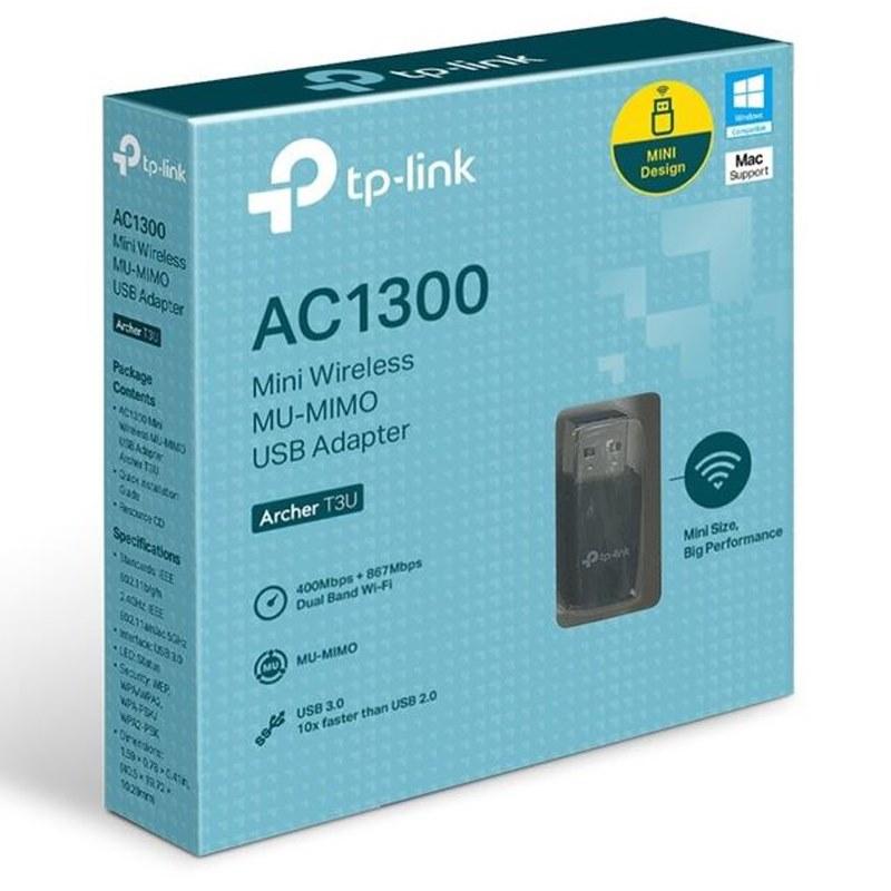 TP-Link Archer T3U AC1300 Mini Wireless MU-MIMO