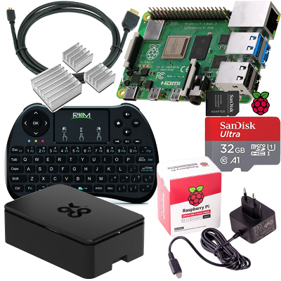 Raspberry Pi 4 Model B 4GB, Štartovacia sada