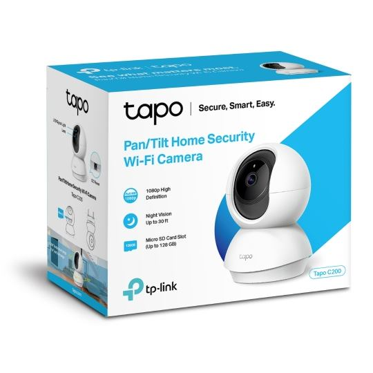 TP-link Tapo C200, Pan/Tilt Home Security kamera