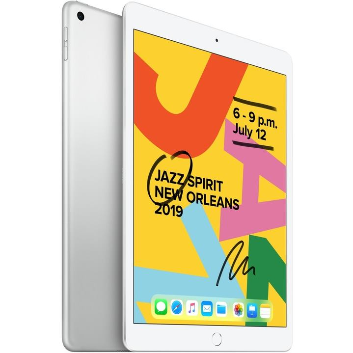 APPLE iPad (2019) 128GB WiFi Sil