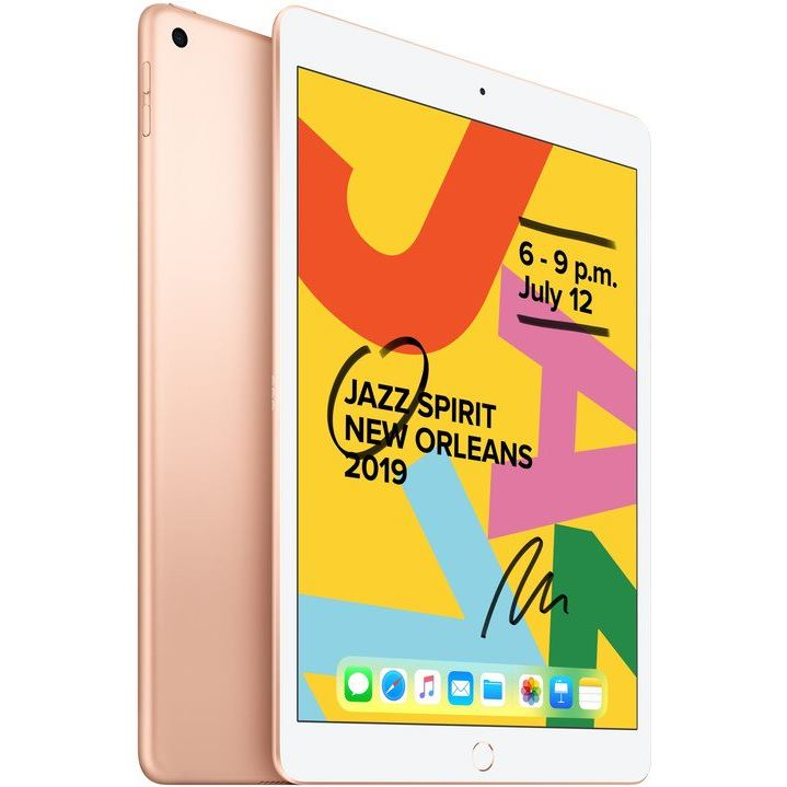 APPLE iPad (2019) 128GB WiFi Gld