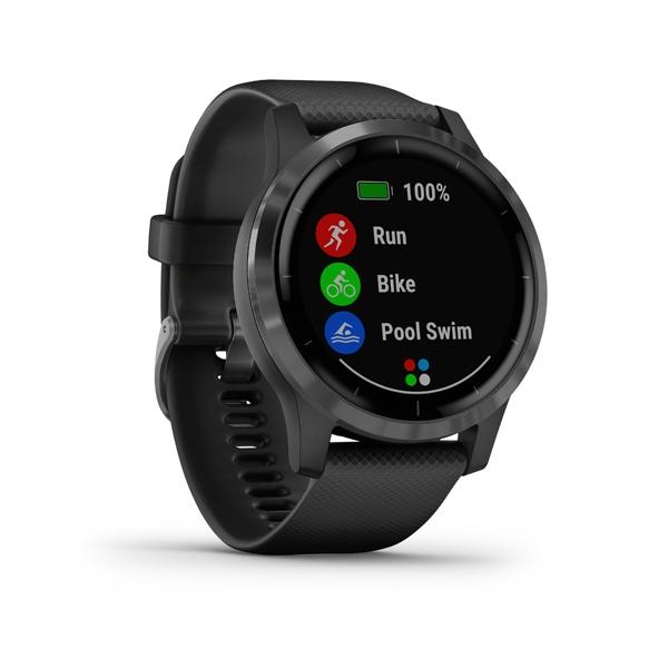 GARMIN Smart hodinky VÍVOACTIVE 4 Black/Slate