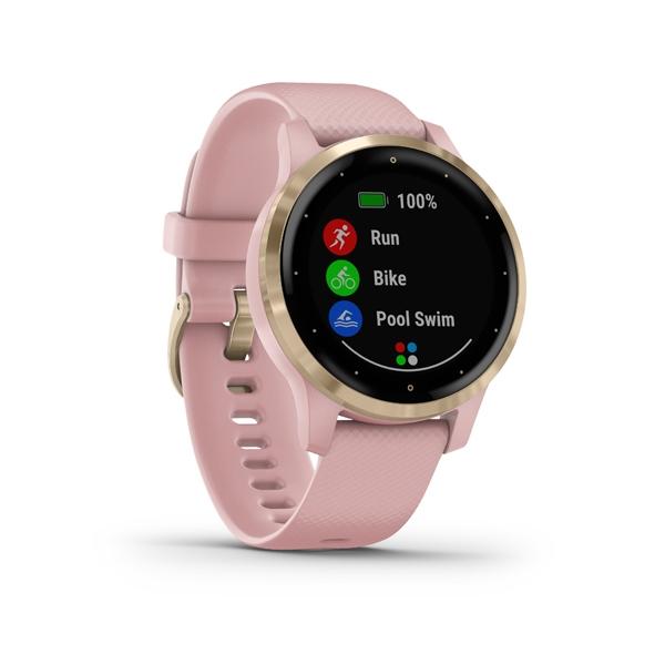 GARMIN Smart hodinky VÍVOACTIVE 4S Rose/Gold