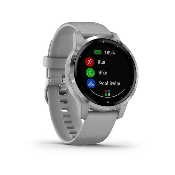 GARMIN Smart hodinky VÍVOACTIVE 4S Gray/Silver