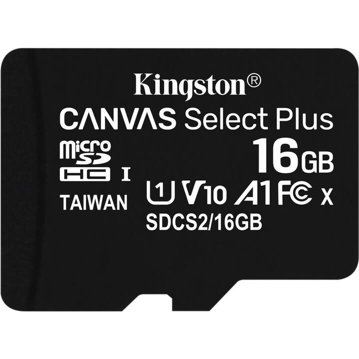 KINGSTON Micro SDHC CANVAS 16GB UHS-I