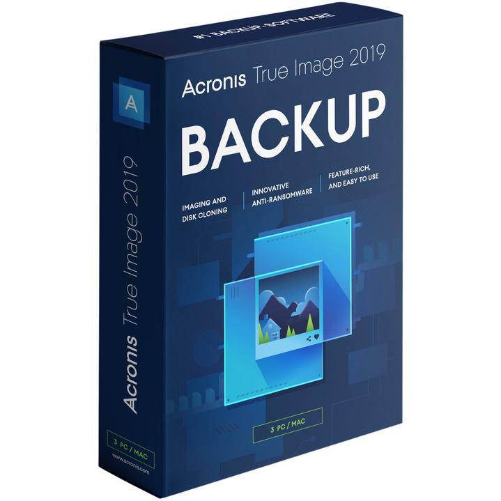 ACRONIS True Image 2020 CZ 3PC BOX