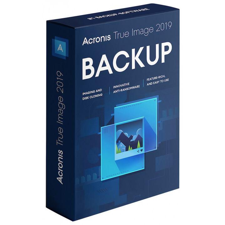 ACRONIS True Image 2020 CZ 5PC BOX