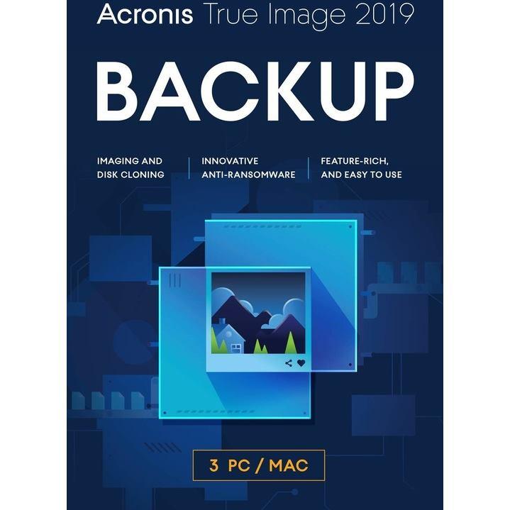 ACRONIS True Image 2020 CZ 3PC ESD