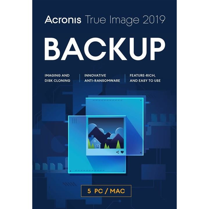 ACRONIS True Image 2020 CZ 5PC ESD