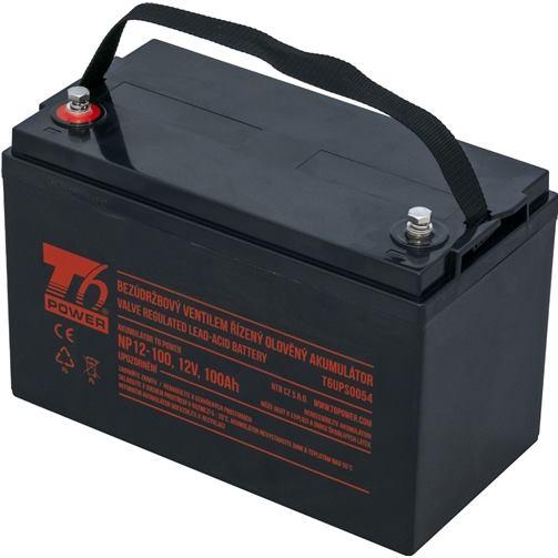 T6 POWER Akumulátor pre UPS, NP12-100, 12V, 100Ah