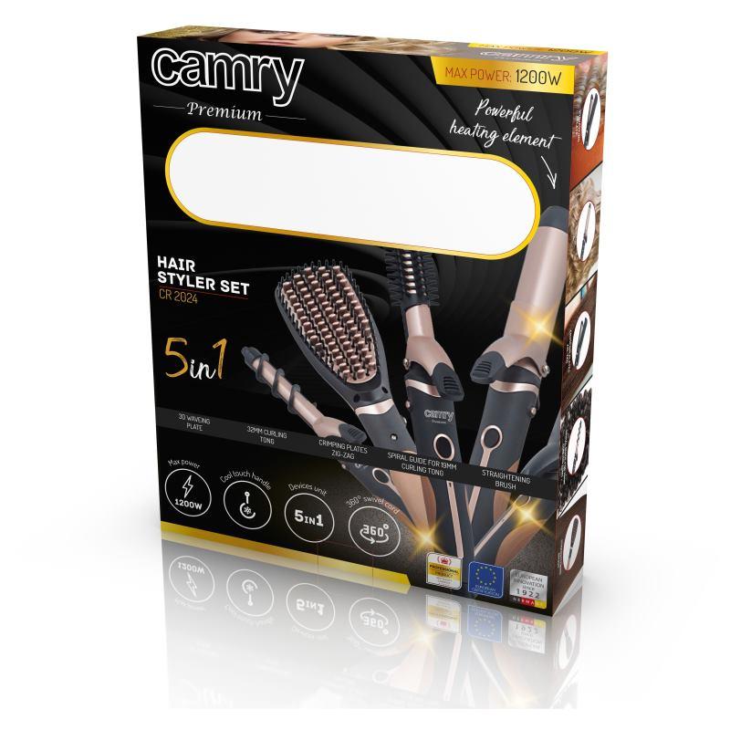 CAMRY CR 2024, Kulma/Kefa na vlasy 5v1