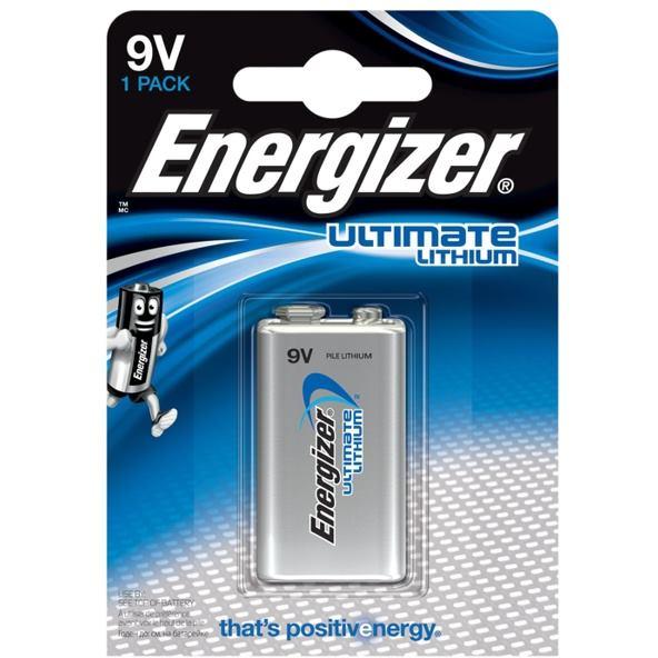 ENERGIZER Ultimate Lithium, Batéria,9V, 6LR61, 1ks