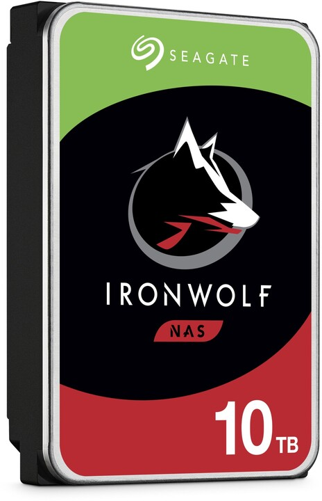 """SEAGATE Iron Wolf 10TB/3,5""""/256MB/26mm"""