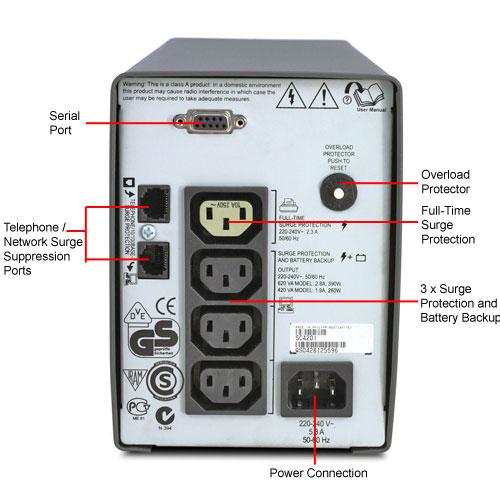 UPS  APC -- SMART 420 SC420I