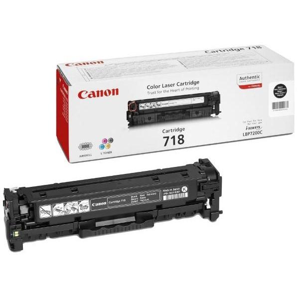 CANON Toner CRG-718Bk BLACK