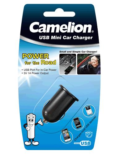 Camelion USB mikro auto nabíjač DD802