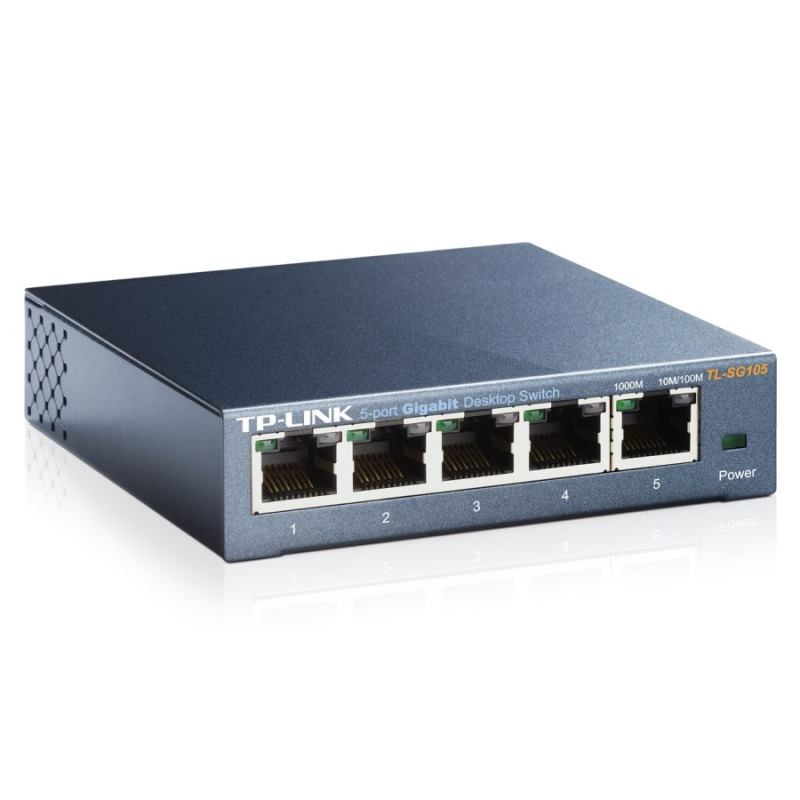 TP-Link Switch 5-Port/1000Mbps/Desk