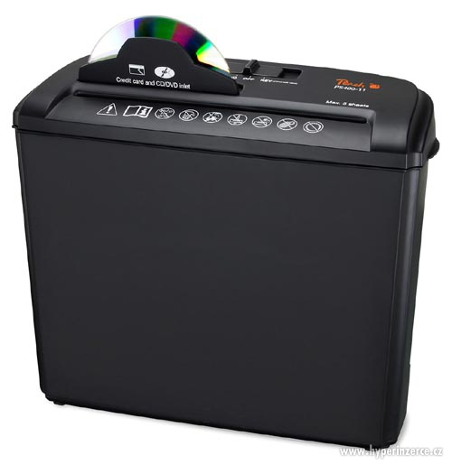 PEACH Skartovač Strip Cut Shredder SCD70 PS400-11