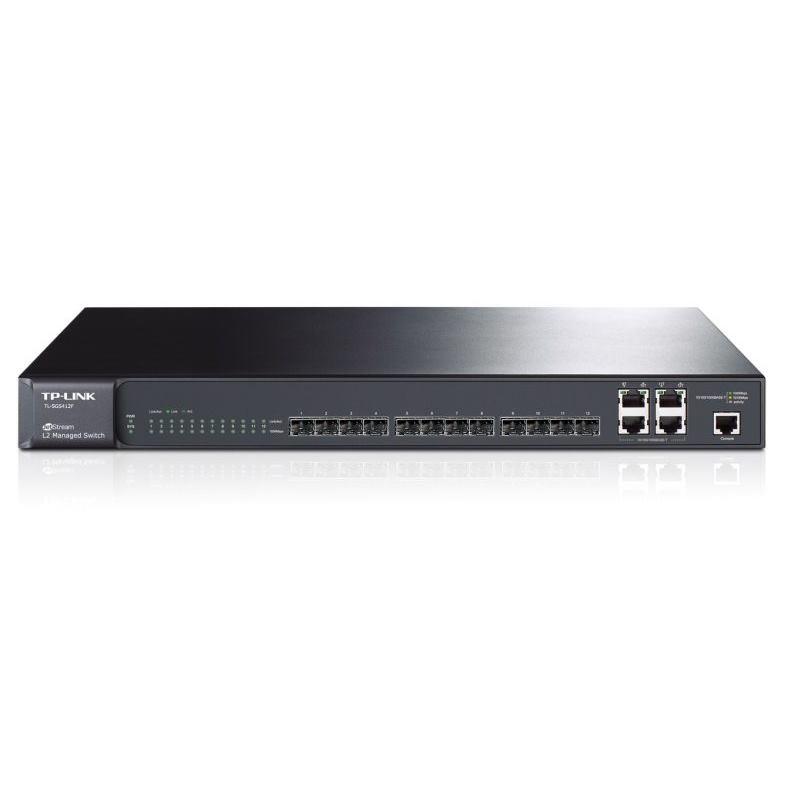 TP-Link Switch 12-Port/1000Mbps/MAN/Rack/SFP
