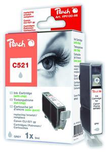 Cartridge Peach kom. CANON CLI-521XL GY PI100-86