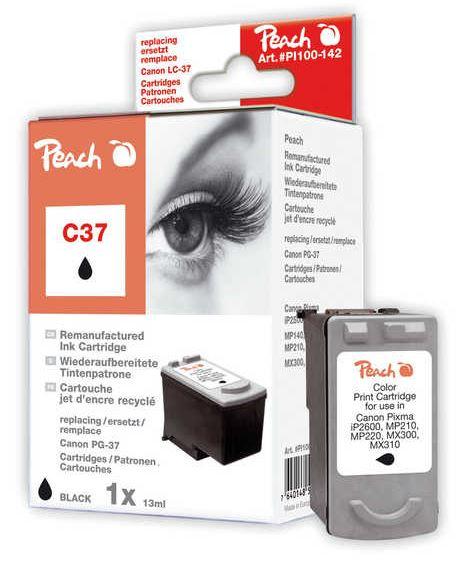 Cartridge Peach kom. CANON PG-37 PI100-142