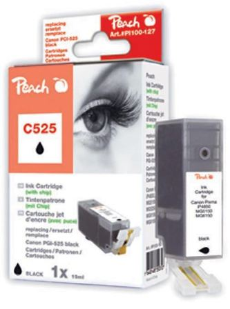 Cartridge Peach kom. CANON PGI-525PGBk PI100-127