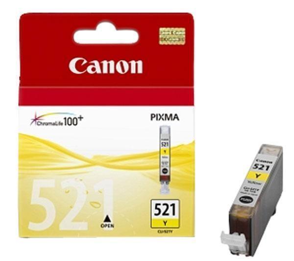 Cartridge CANON CLI-521Y yellow